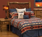Wooded River Redrock Canyon Bedspread; Super King