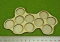 Horde Tray, 10-25mm Circles