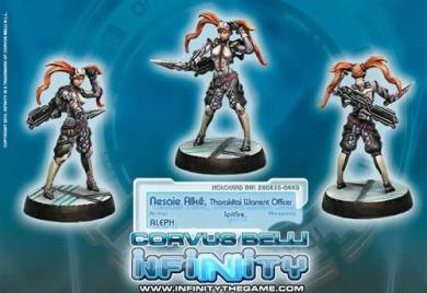 Nesaie Alke (Spitfire) (1) Aleph Infinity Corvus Belli