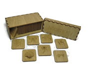 Memory Wooden Tile Game