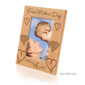 Kate Posh - First Mother's Day Wooden Picture Frame