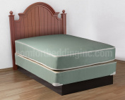 Plasticized Institutional Full Size Mattress & Box Spring Set