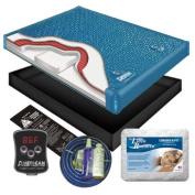 Ultra Waveless Lumbar Waterbed Mattress Kit -Queen