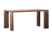 Abbyson Vale Rectangle Dining Table, Walnut