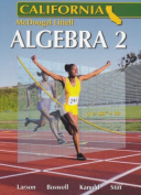 Holt McDougal Larson Algebra 2 California