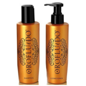 Orofluido Shampoo + Conditioner (200ml Each) by Orofluido