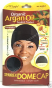 Magic Coll - Organic Argan Oil Treated Spandex Dome Cap With Wide Elastic #3016B