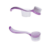New 1pcs New Skin Care Exfoliating Facial Brush Face Cleaning Wash With Cap FOR women girls