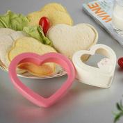 Home DIY Cookie Cutter Sandwich Toast Bread Mould Maker Heart Design Kitchen Tool