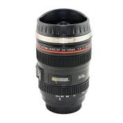 Denshine (TM) Camera Lens 24-105mm Stainless Lens Thermos Travel Mug/Cup for Coffee or Tea Black