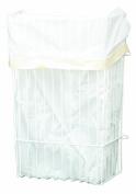 Panacea Grayline 40227 Garbage Bag Holder, Large, White