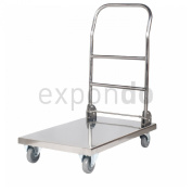Royal Catering RCFT-1 Flatcar Foldable Stainless Steel 330 kg Maximum