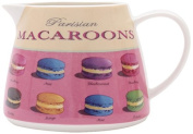 Martin Wiscombe 400 ml Porcelain Small Jug Macaroons, Multi-Colour