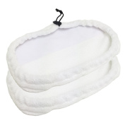 Bissell Mop Pads Replacements, Steam Compatible with 1867 203-2158, 2032158 and 3255 x 2