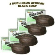 Tropical Naturals Dudu-Osun African Black Soap (100% Authentic) Pack Of 4
