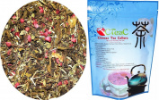 Chinese Tea Culture Breathing Tea and Bronchitis Tea for Asthma-Against Heart Diseases-Headaches-Brain Functions-Dizziness-Chinese Herbal Tea Chinese Loose Leaf Tea Chinese Organic Tea 60ml