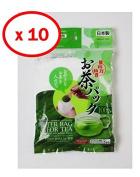10x100pcs Disposable Filter Bags for Loose Tea
