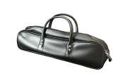 KANETSUNE Black Synthetic Leather Knife Bag KC-042