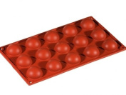 Formaflex Silicone Mould - Hemisphere ø 40 mm h 20 mm 15 portions