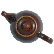 London Pottery 4 Cup Globe Teapot Rockingham Brown