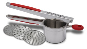 Bellemain Stainless Steel Potato Ricer with 3 Interchangeable Fineness Discs