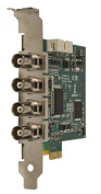 Euresys 1687 Picolo Pro 2 PCIe Video Capture Board w/ 4 Composite Inputs thru BNCs, NTSC/PAL