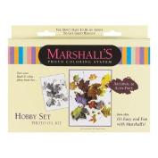 Marshall Hobby Oil Set, for Hand Colouring Black & White and Colour Photographs