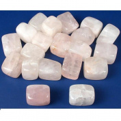Quartz Rose Rectangle Beads 15mm 20Pcs