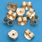 5 Pairs 14K Gold Filled Earring Backs Jewellery Ear Nuts