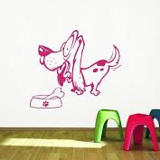 Wall Decals Animals Dog Decal Pet Puppy Dogs Paws Vinyl Decal Sticker Home Decor Bedroom Living Room Children's room Nursery Murals ML81