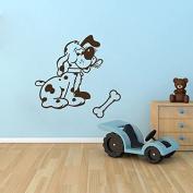 Wall Decals Animals Dog Decal Pet Puppy Dogs Paws Vinyl Decal Sticker Home Decor Bedroom Living Room Children's room Nursery Murals ML79