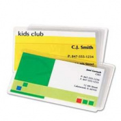 FEL52031 Laminating Pouches, 5 mil, 2 1/4 x 3 3/4, Business Card