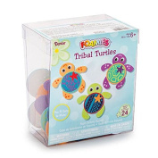 Darice Tribal Turtle Craft Foam Activity Bucket