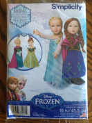Simplicity Disney Frozen Home Sewing Pattern for 46cm Doll Clothes M0747