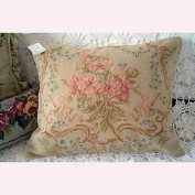 New Royal Collection Handmade Wool Needlepoint Cushion Cover/ Pillow Sham NP274