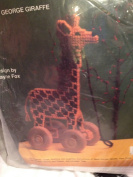 Tag a Long Toy George Giraffe Plastic Canvas Kit