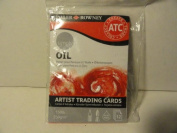 Oil Artist Trading Cards - 12 Count