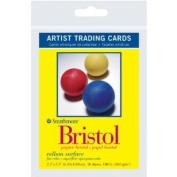 6 Pack 6.4cm x 8.9cm Vellum Surface Bristol Artist Trading Cards (Product Catalogue