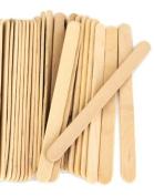 1000 Natural Standard Size Wood Craft Sticks Natural Popsicle Stick