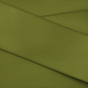 Kel-Toy Double Face Satin Ribbon, 3.8cm by 25-Yard, Olive Green