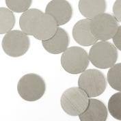 ImpressArt, Circle, 1.3cm , Aluminium Stamping Blanks- 24 pc.