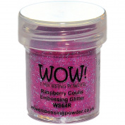 Wow! Embossing Powder 15Ml-Raspberry Coulis