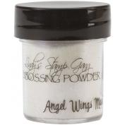 Lindy's Stamp Gang 2-Tone Embossing Powder, 15ml Jar, Angel Wings Mauve
