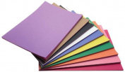 Childcraft 1465886 Light Weight Construction Paper, 23cm x 30cm , Assorted Colours