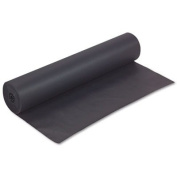 Rainbow Duo-Finish Coloured Kraft Paper, 16kg., 90cm x 300m, Black, Sold as 1 Roll