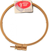 23cm No-Slip Embroidery Hoop, Interlocking Tongue and Groove Design