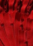 36cm Zipper YKK #3 Skirt & Dress ~ YKK Colour 519 Hot Red