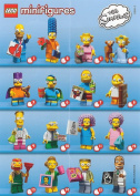 Lego Simpsons Series 2 - FULL COMPLETE SET of 16x Minifigures - 71009