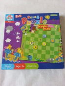 Kids Create 5.1cm 1 Game and Puzzle Noah Ark and Draughts puzzle 40pc