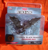 Dungeons and Dragons D and D Attack Wing Wave 2 Shadow Black Dragon Board Game